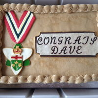Cake Made For Dr. David Pearson, Awarded The Order Of Ontario In June 2017 Dr. Dave is one of my colleague's at the Living with Lakes Centre. He was nominated for and awarded the province's highest award...