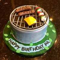 Grill Cake Grill Cake