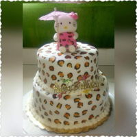 Hello Kitty Fondant covered