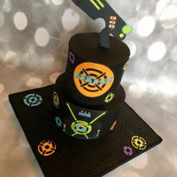 Laser Tag Cake Made this for my sons 14th birthday