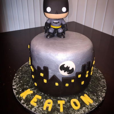 Batman Cake My sister fell in love with a design made by Sweet Little Morsels, LLC and asked me to recreate it for my nephew's birthday. The...