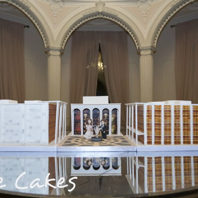 Ny Licoln Center Wedding Cake