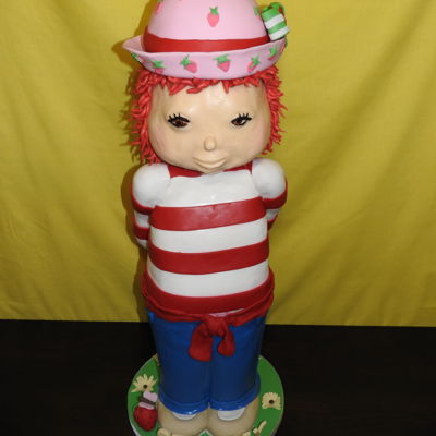Strawberry Shortcake Strawberry Shortcake Sculpted Birthday Cake I neglected to post this last week. This was my granddaughter's birthday cake. It is made...