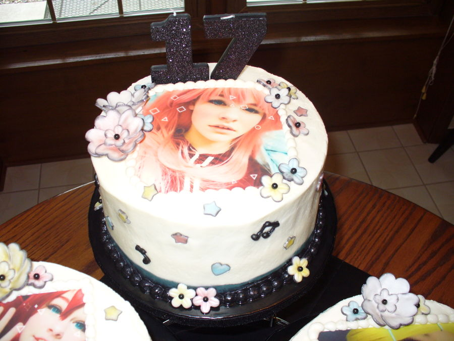 17Th Birthday Cake For My Granddaughter A Cosplayanime Enthusiast