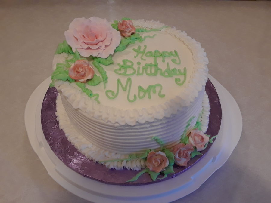 Astounding 8 Round Birthday Cake Cakecentral Com Funny Birthday Cards Online Barepcheapnameinfo