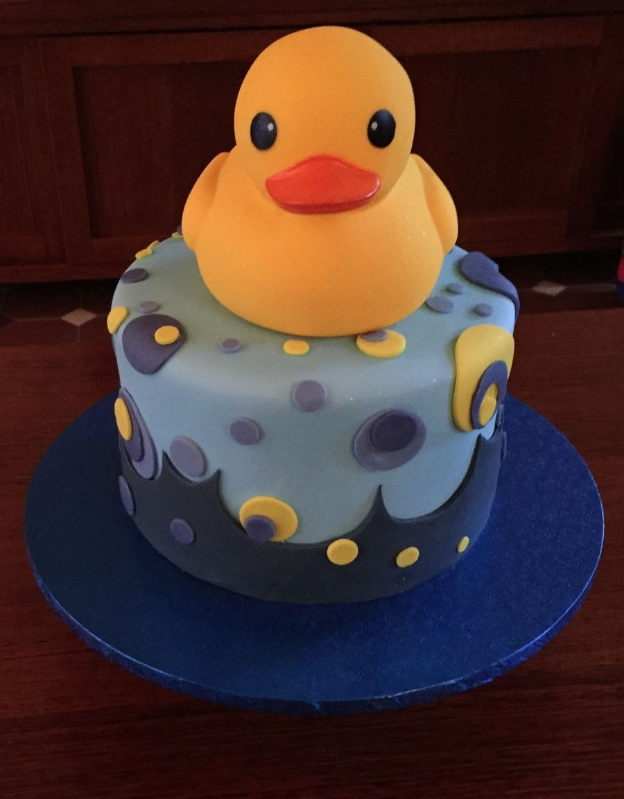 Baby Shower Cake For My Daughter. on Cake Central