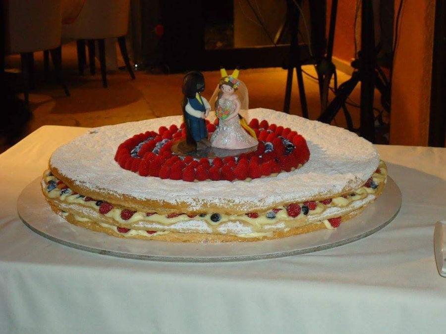 Italian Wedding Cake CakeCentralcom