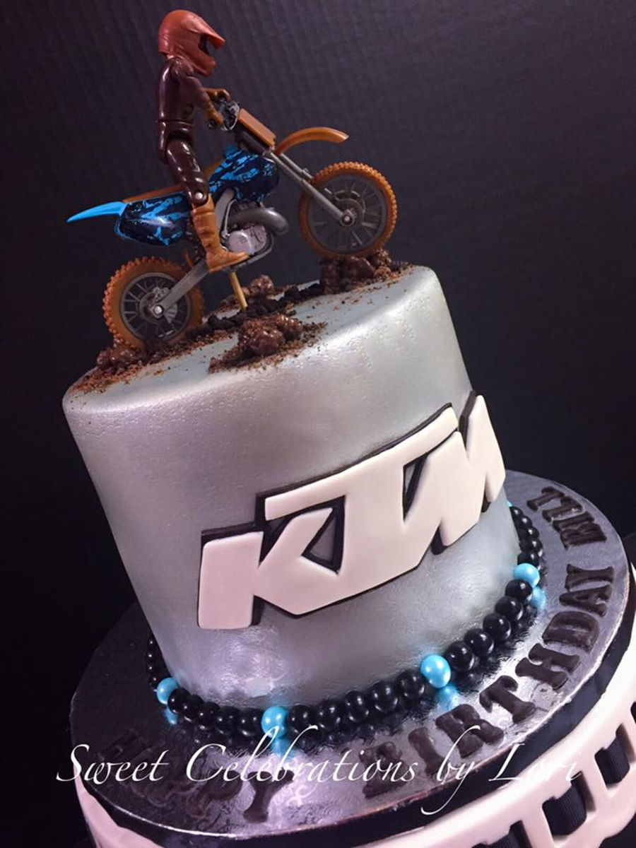 Ktm Dirt Bike Cake on Cake Central