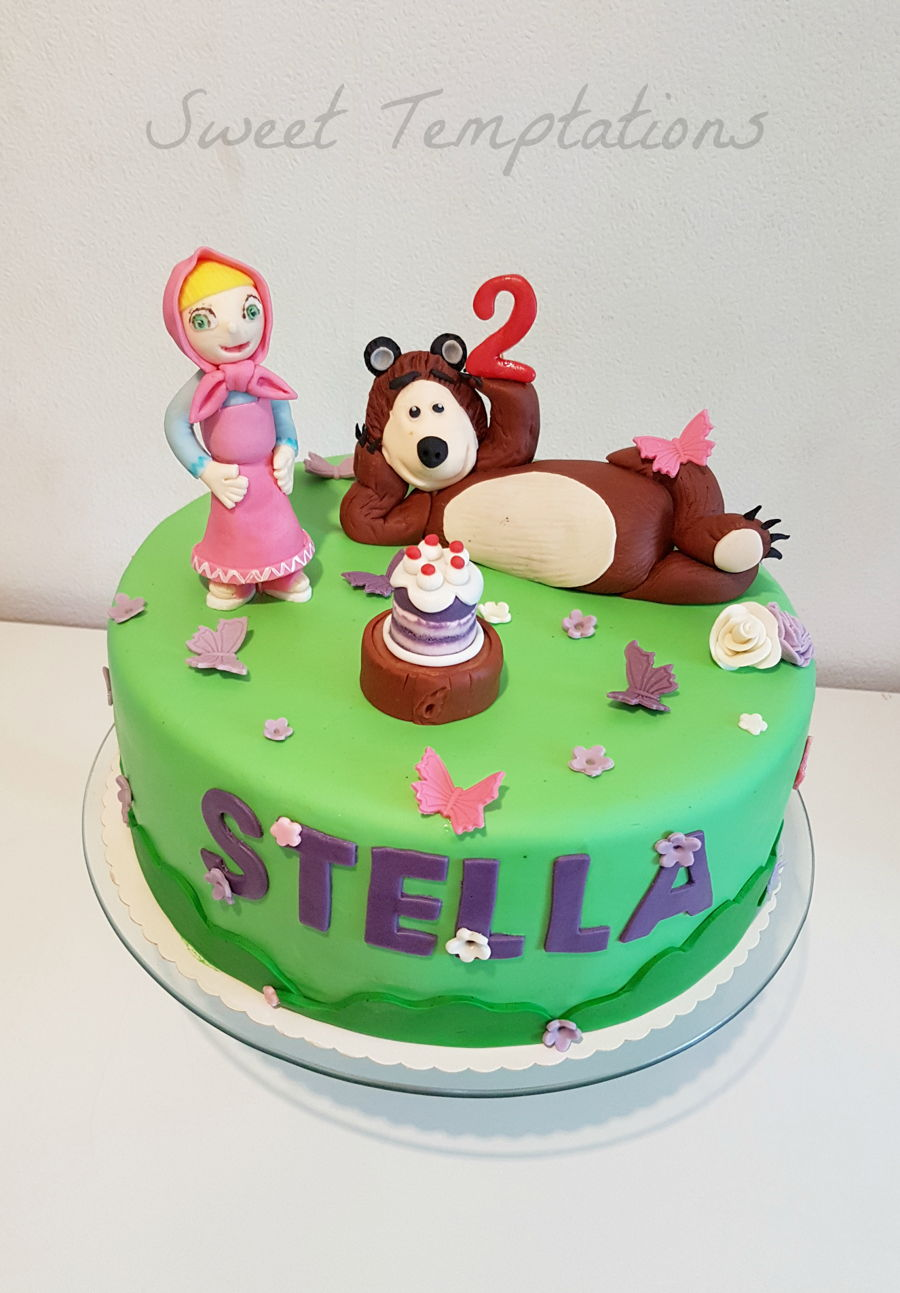 Masha And The Bear Cakecentral