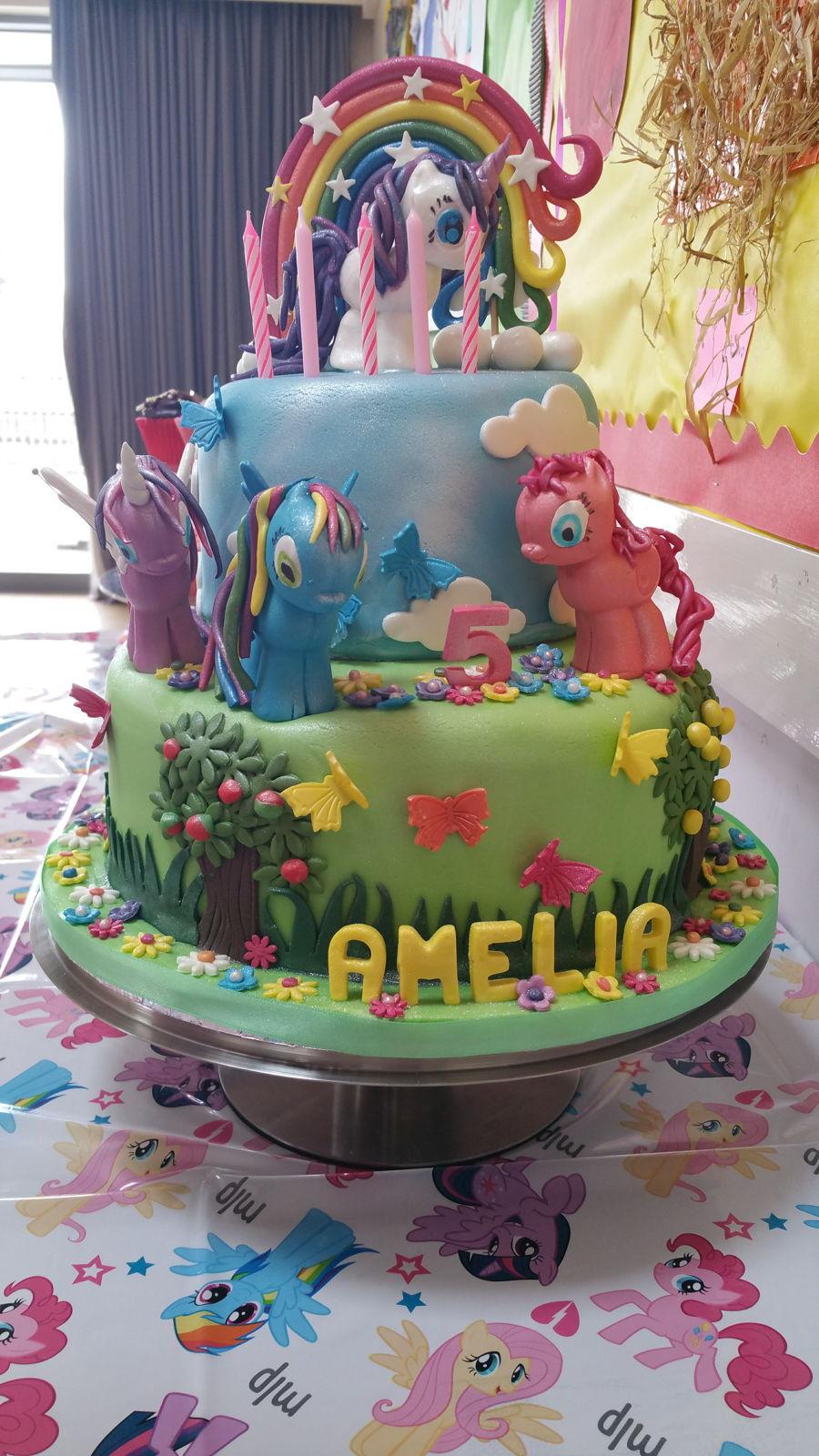 Peachy My Little Pony Cakecentral Com Funny Birthday Cards Online Kookostrdamsfinfo
