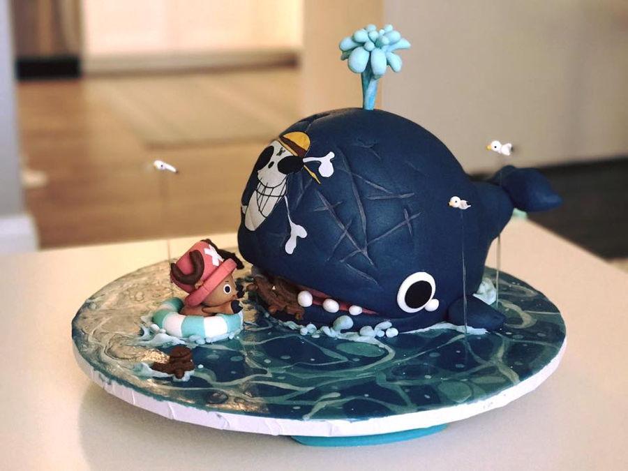 One Piece Chopper Amp Laboon Dental Cake Cakecentral Com