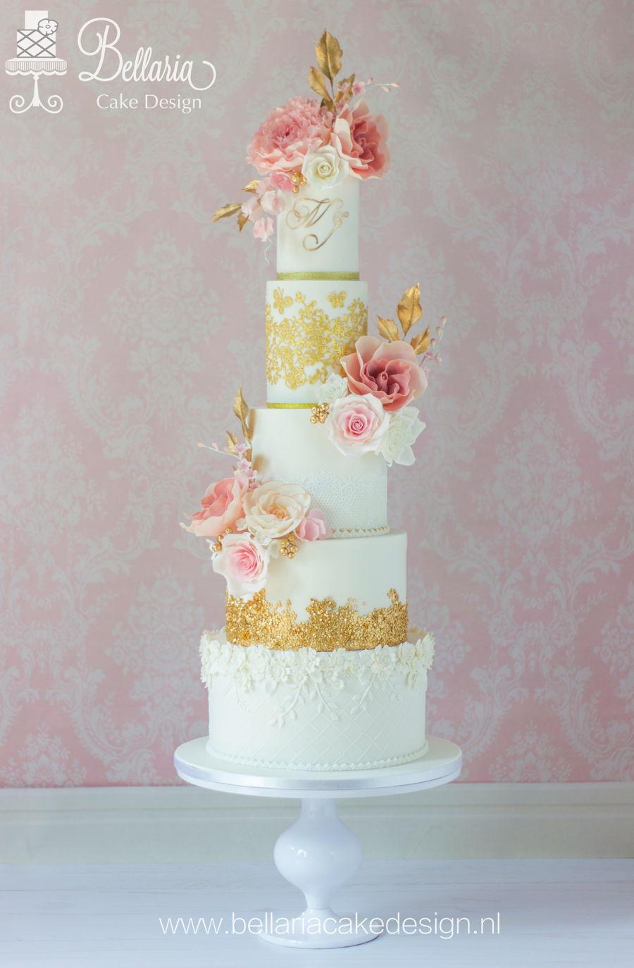 Romantic Wedding Cake Cakecentral Com