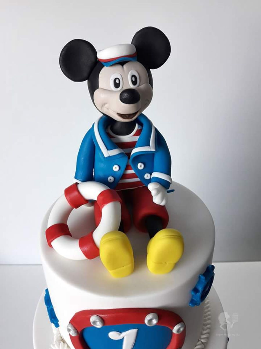 Sailor Mickey Mouse Cake Cakecentral Com