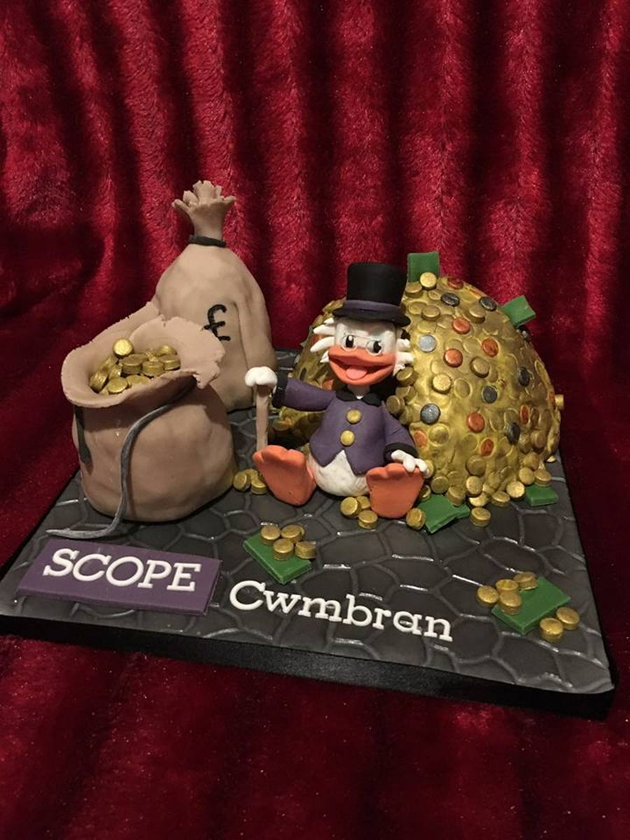 Scrooge Mcduck Cake on Cake Central
