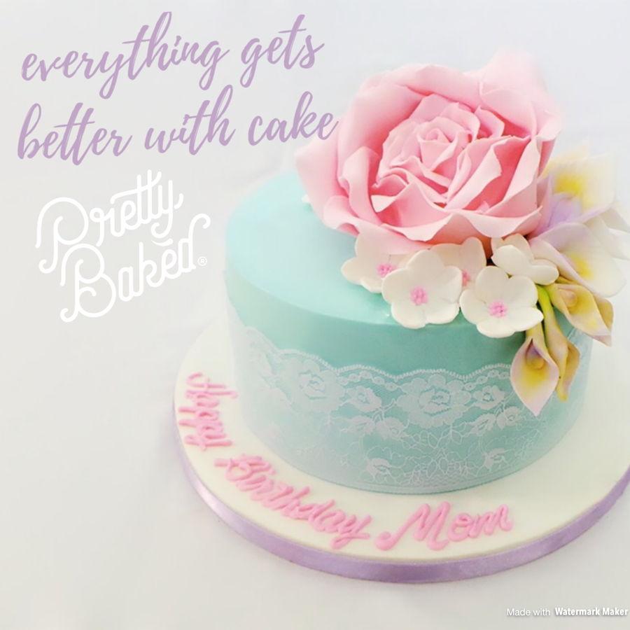 Simple Cake Design Cakecentral Com