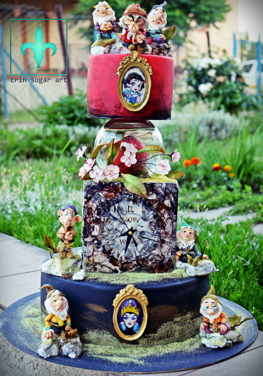 Snow White And Seven Dwarfs on Cake Central
