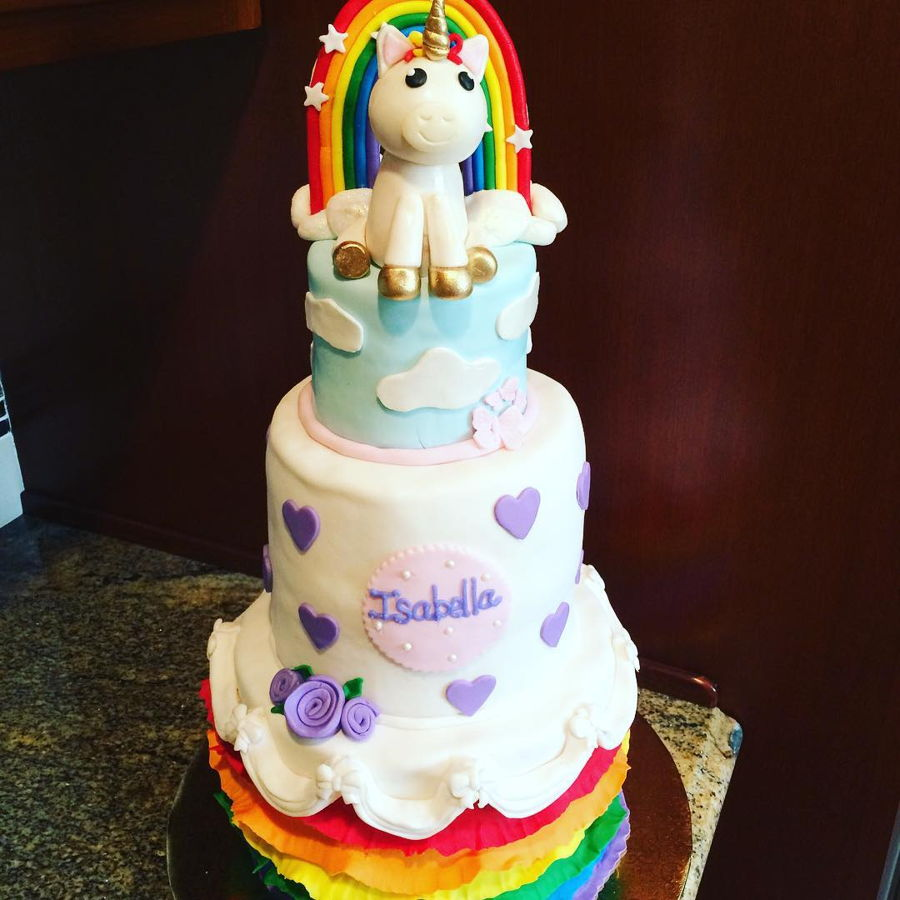 Unicorns And Rainbows on Cake Central
