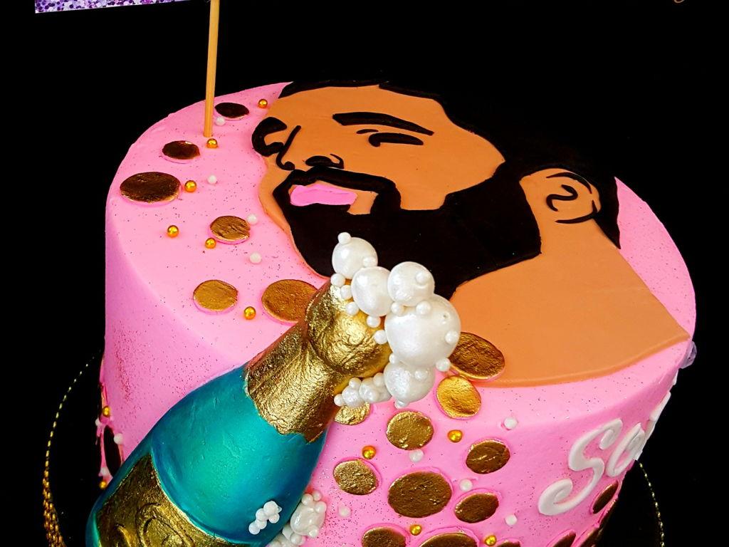 Drake Cake CakeCentralcom