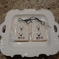 Electric Outlet Cookies NFSC with fondant.