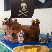 Minions Pirate Cake Minions Pirate Cake I made for my son