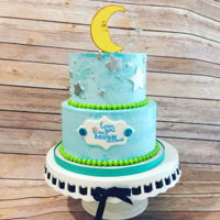 Moon Baby Shower Love you to the Moon and back was the baby shower theme