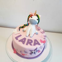 Unicorn Cake Another unicorn cake for a little unicorn lover :)