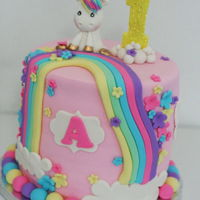 Unicorn Cake Unicorn cake for a photoshoot