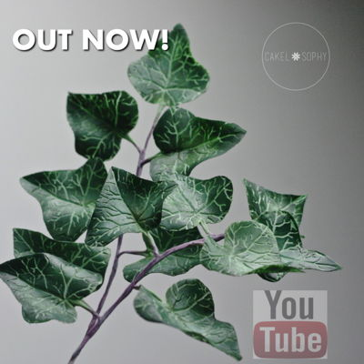 Ivy Plant / Foliage I love making modern flowers / foliage, particularly if they are challenging technically, and I think Ivy ticks all these boxes. I have a...