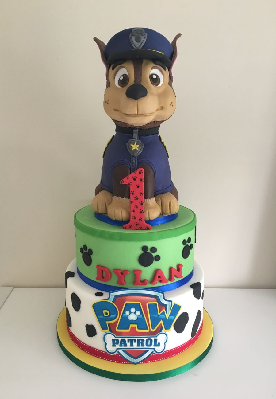 3d Chase Paw Patrol Cakecentral Com