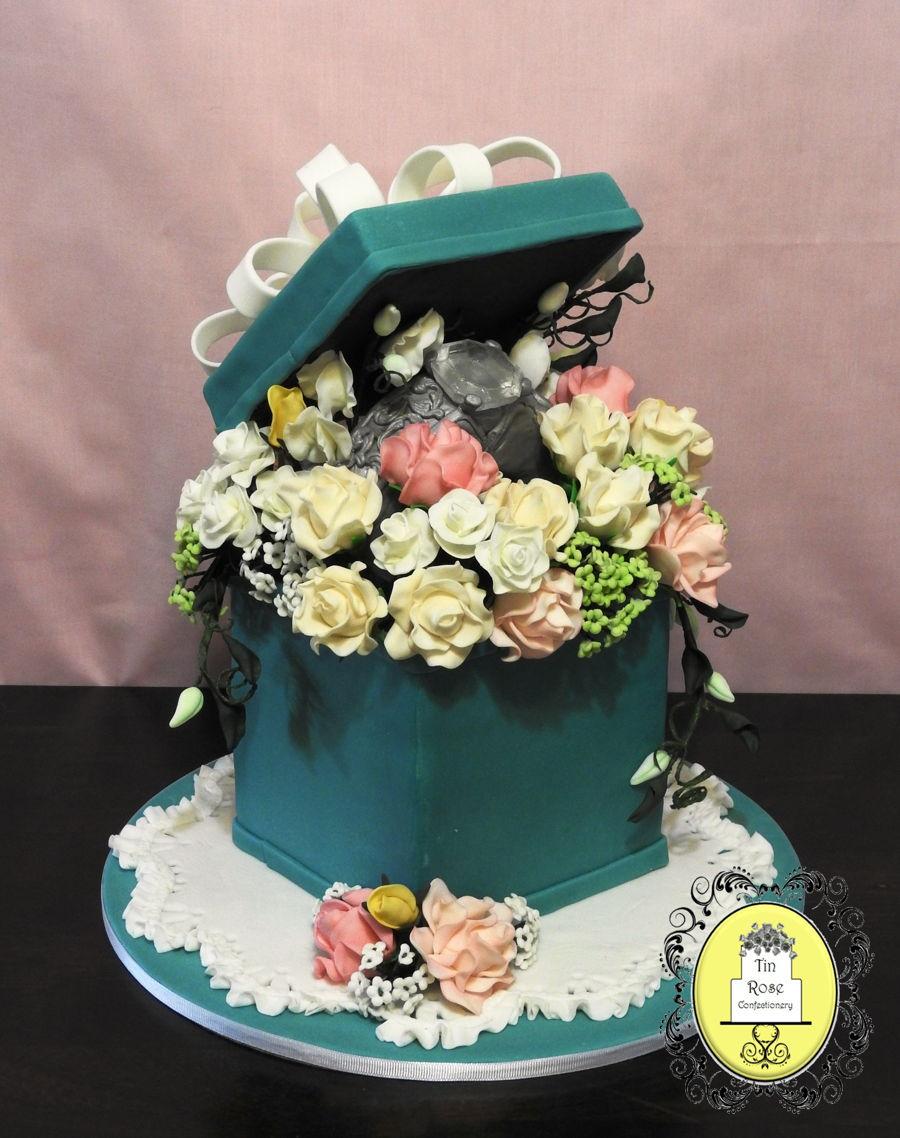 Bridal Shower Engagement Ring Cake Cakecentral Com
