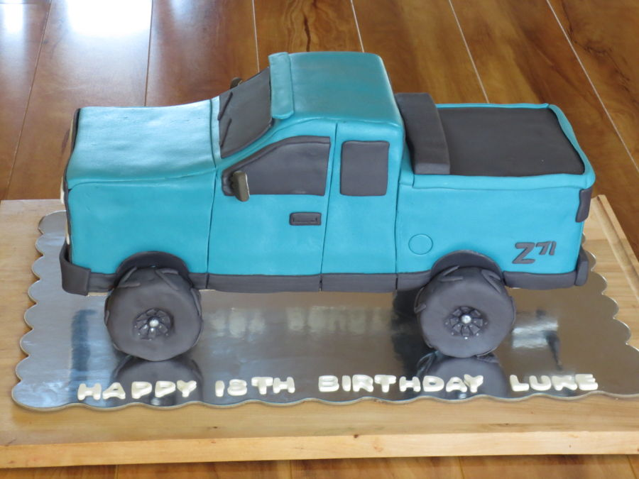 Chevy Truck on Cake Central