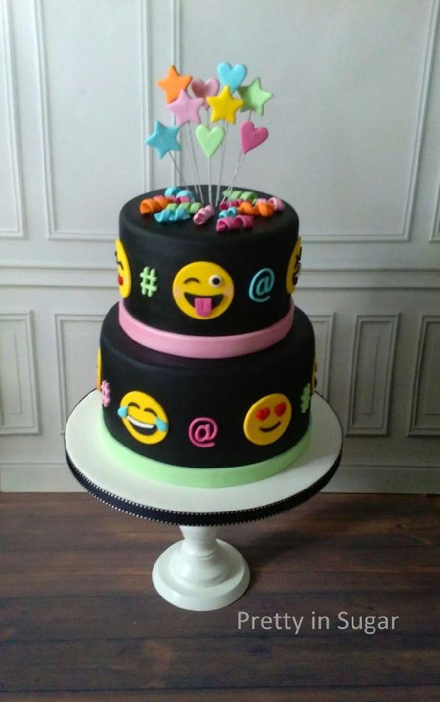 Emojis Cake Cakecentral Com