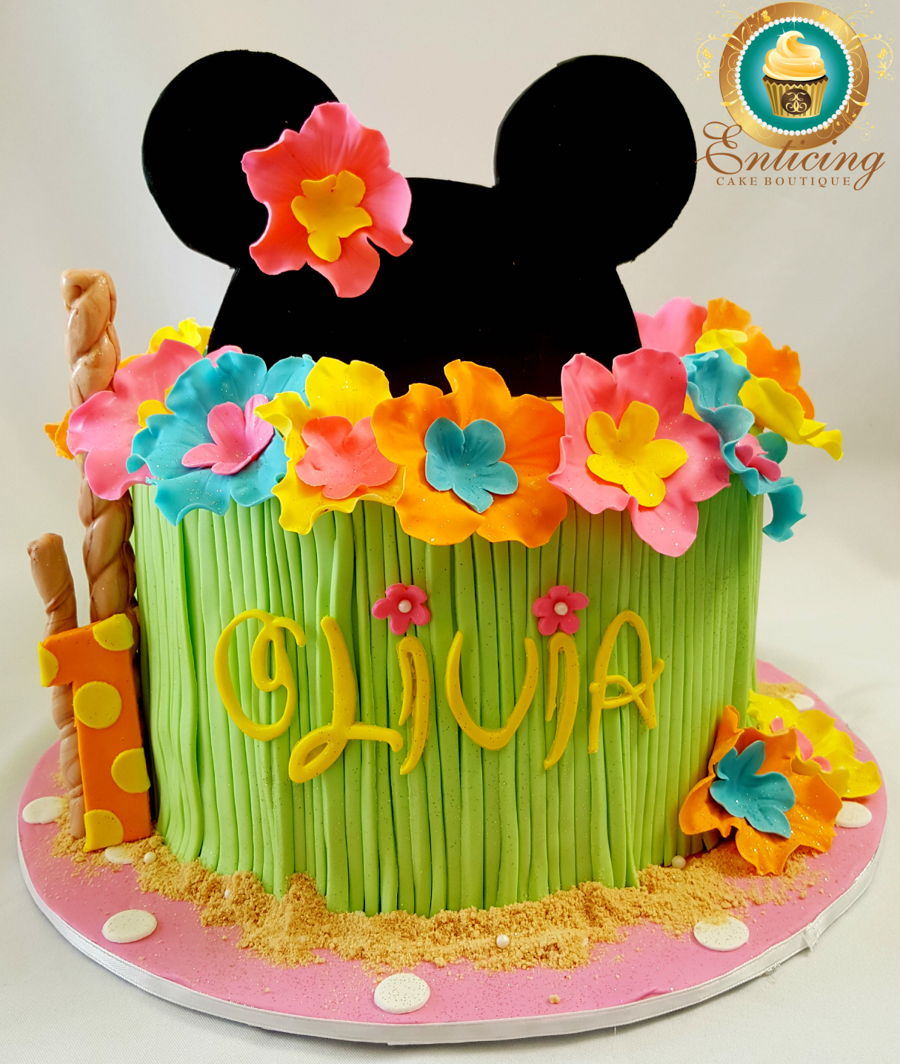 Minnie Birthday Luau