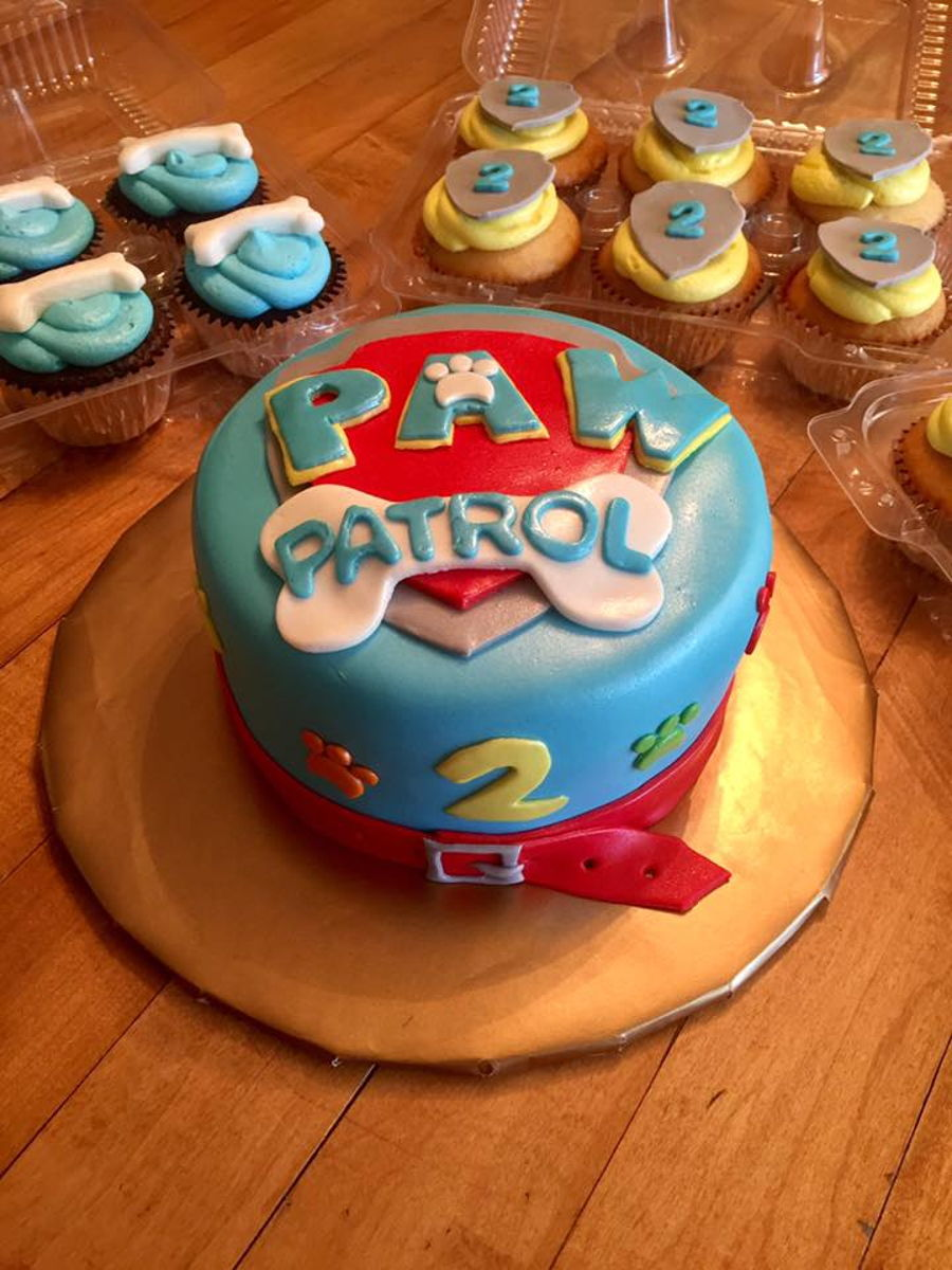 Paw Patrol on Cake Central