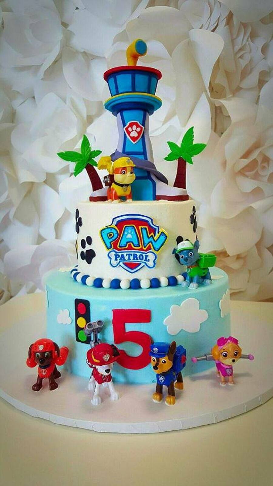 Paw Patrol Birthday Cake Cakecentral