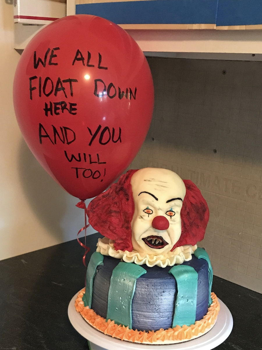 Pennywise From Quot It Quot Cakecentral Com