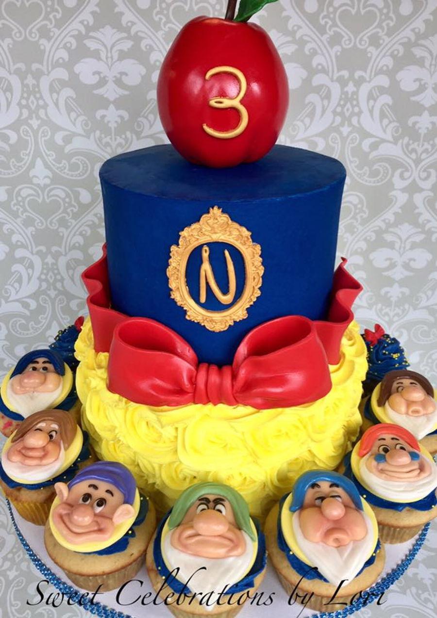 Resultado de imagen de snow white cake