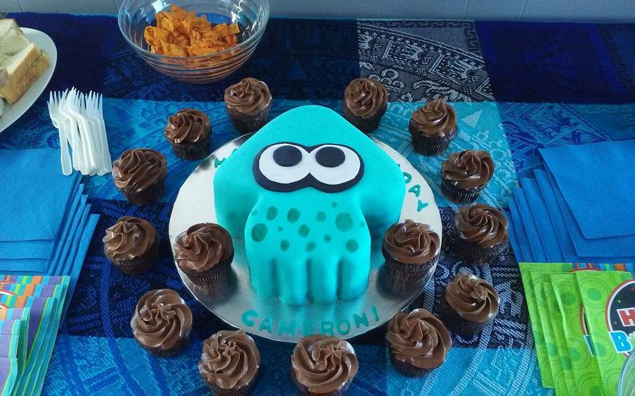 Splatoon Cake Cakecentral Com