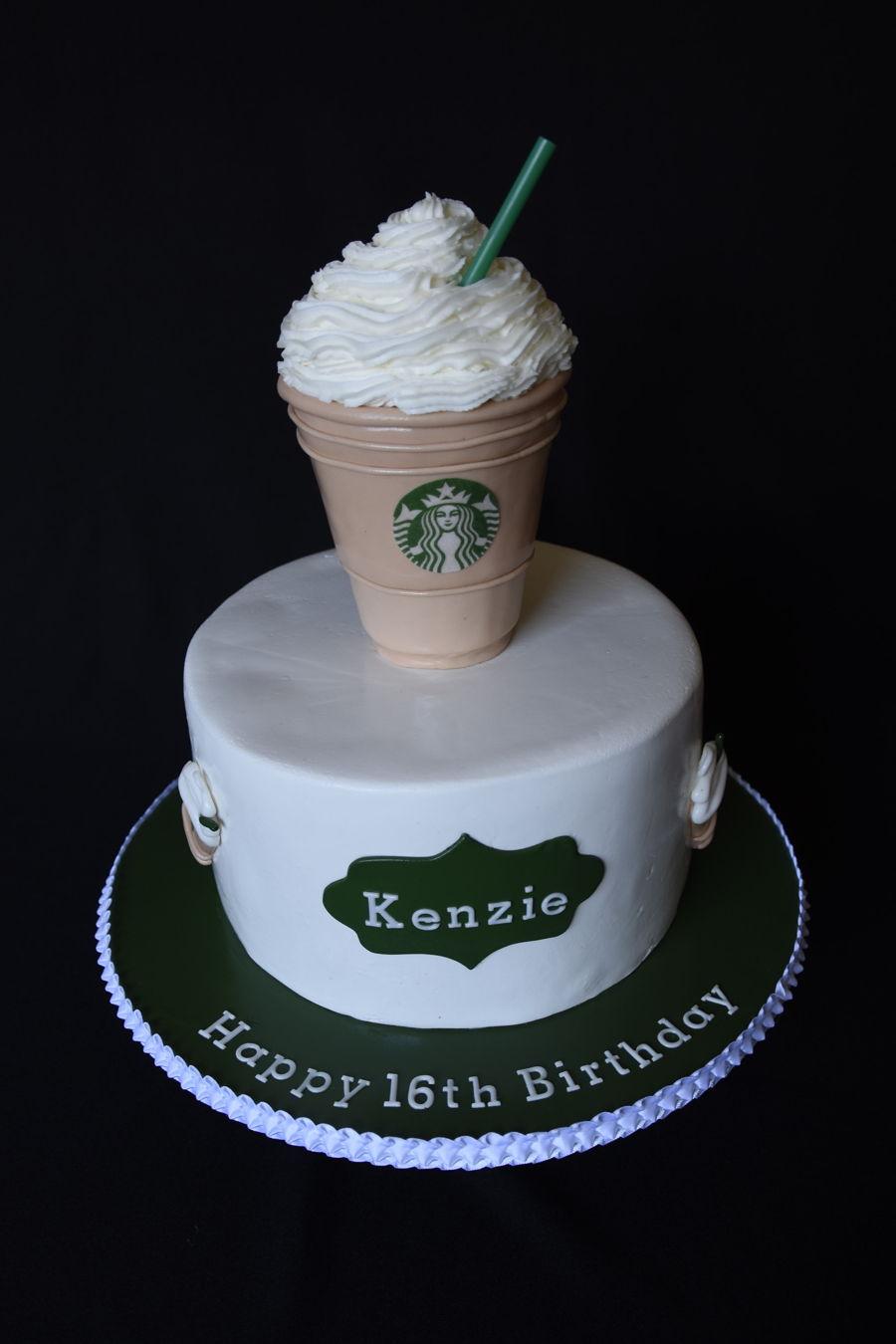 Starbucks Cake Cakecentral Com