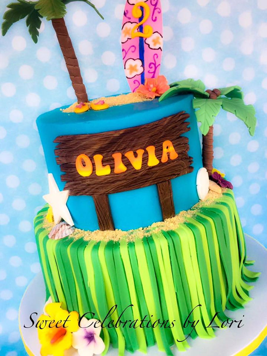Tropical Theme Cake on Cake Central