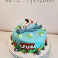 Jungle Book Birthday Cake for a little Balu fan for 3th birthday :)
