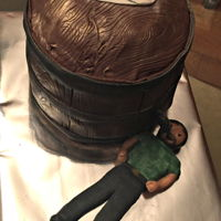 Keg Cake For my on-in-laws 40th