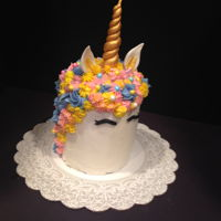 Yes, Another Unicorn Cake! Ive been seeing cakes everywhere and have been wanting to try one. Finally got the opportunity and had a good time making it. Hope I get to...