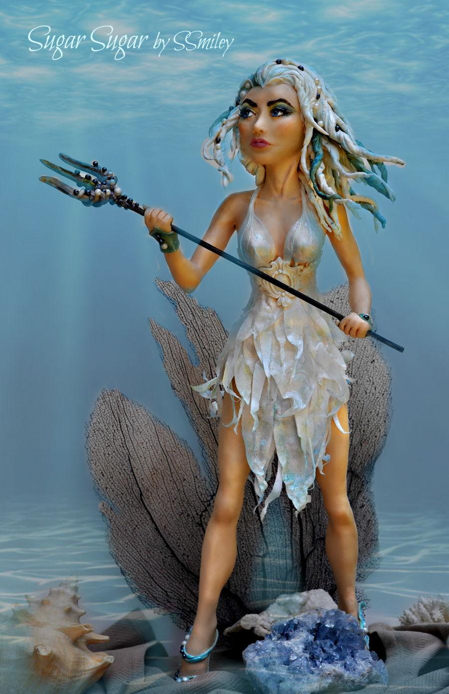 Amphitrite Wife Of Poseidon Cakecentral Com