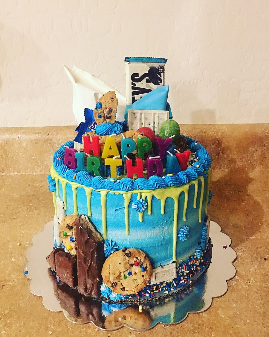 Loaded Drip Cake Cakecentral