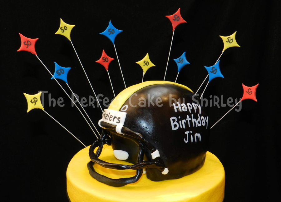 How To Make A Steelers Cake