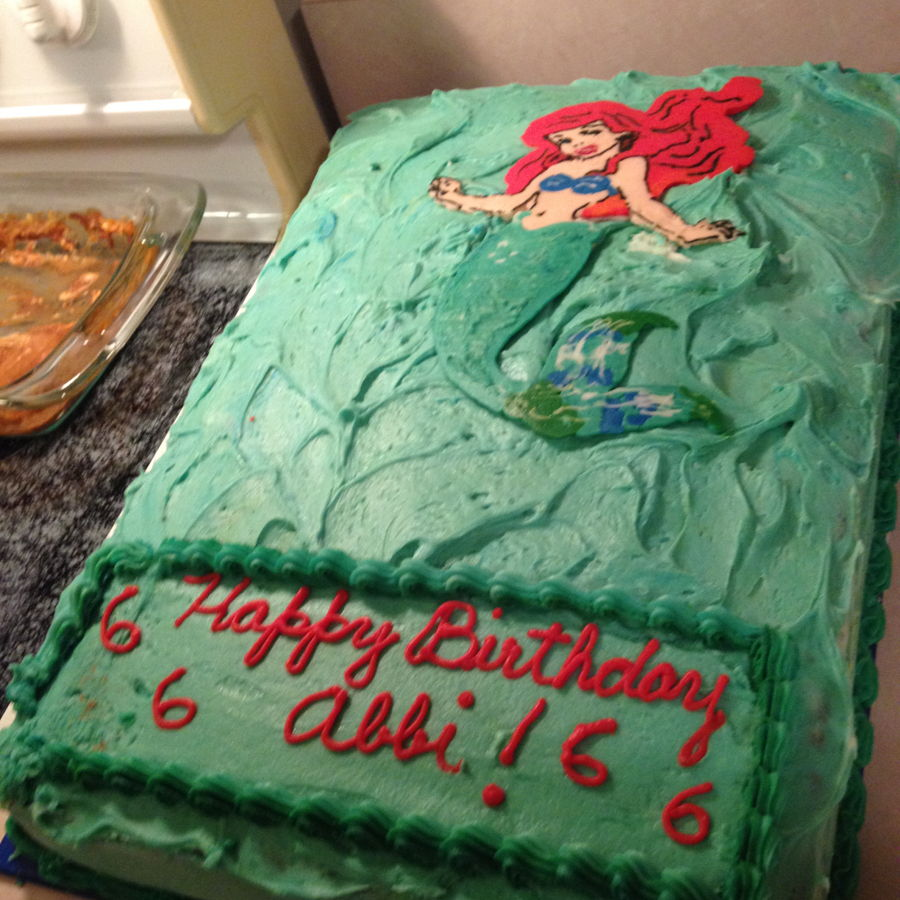 Princess Ariel on Cake Central