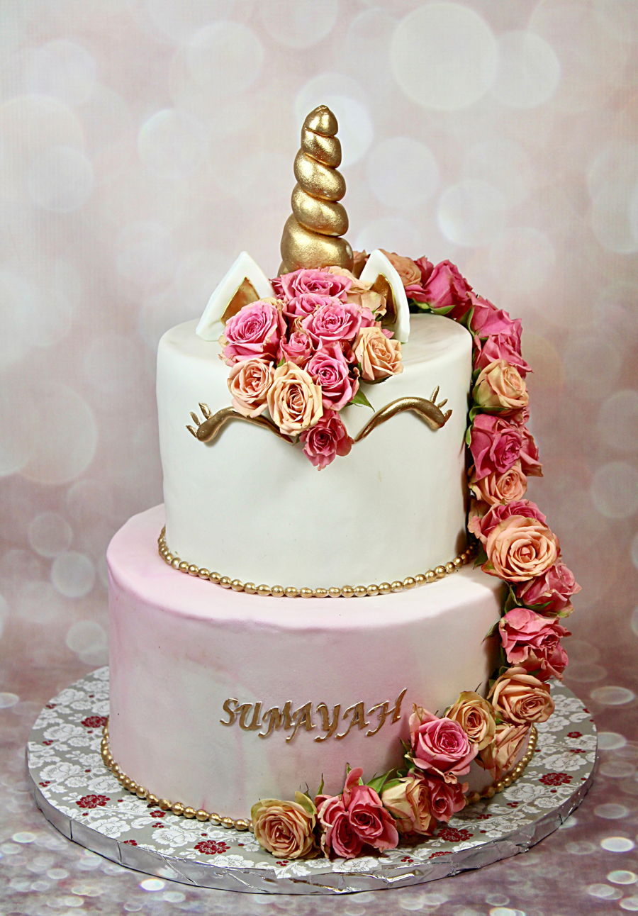 Unicorn Cake CakeCentralcom