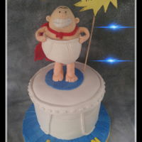 Captain Underpants Cake Happy