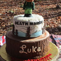 Eagle Scout Death March Cake My 2nd nephew became an Eagle Scout & we decided to do something less formal since the ceremony was at a campsite. I was talking to my...
